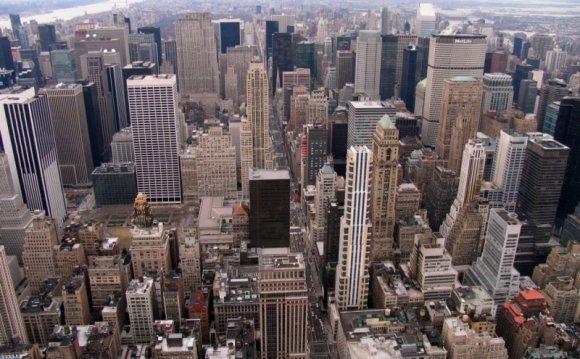 Небоскребы Нью-Йорка, США